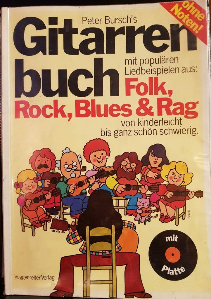 Gitarre selbst lernen mit Peter Burschs Gitarrenbuch